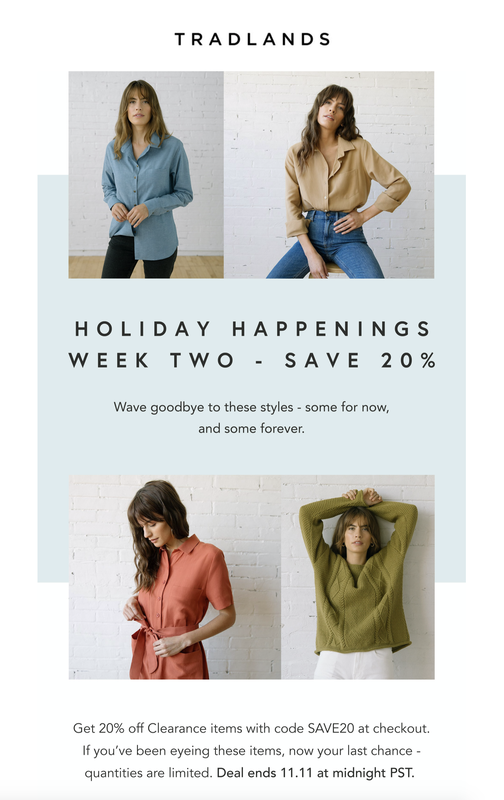Tradlands Sale 20% Off Clearance with code SAVE20