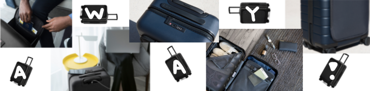 $20 off away luggage