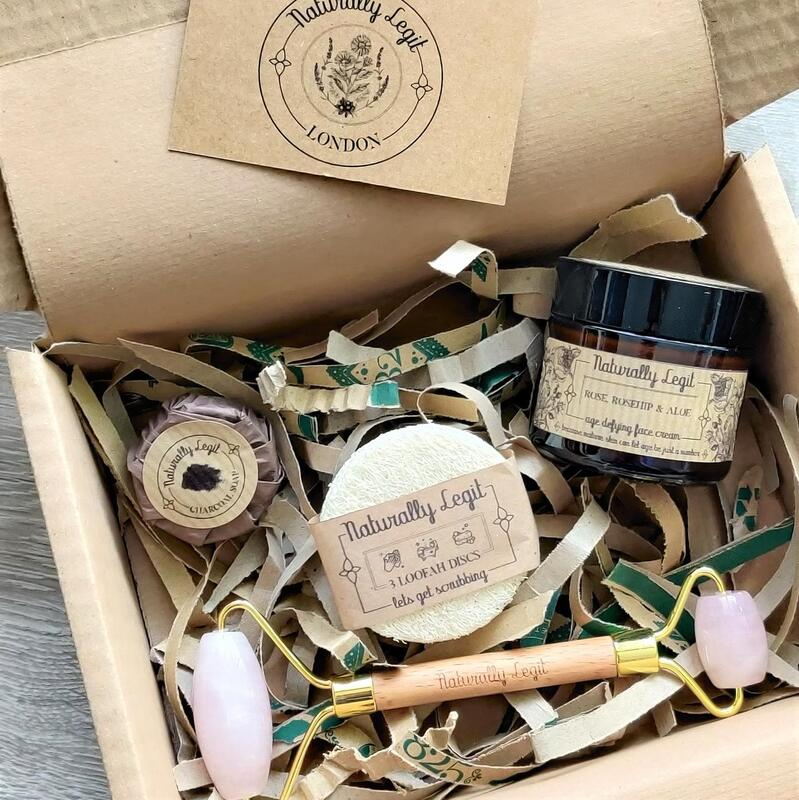 Skincare Gift Box - sustainable gifting, natural, facial roller, age-defying,eco-friendly gift set