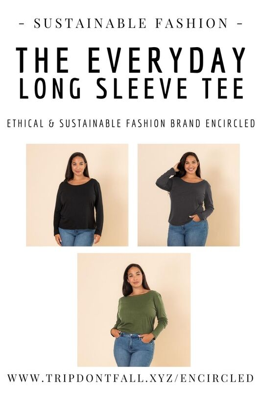 The everyday long sleeve tee encircled