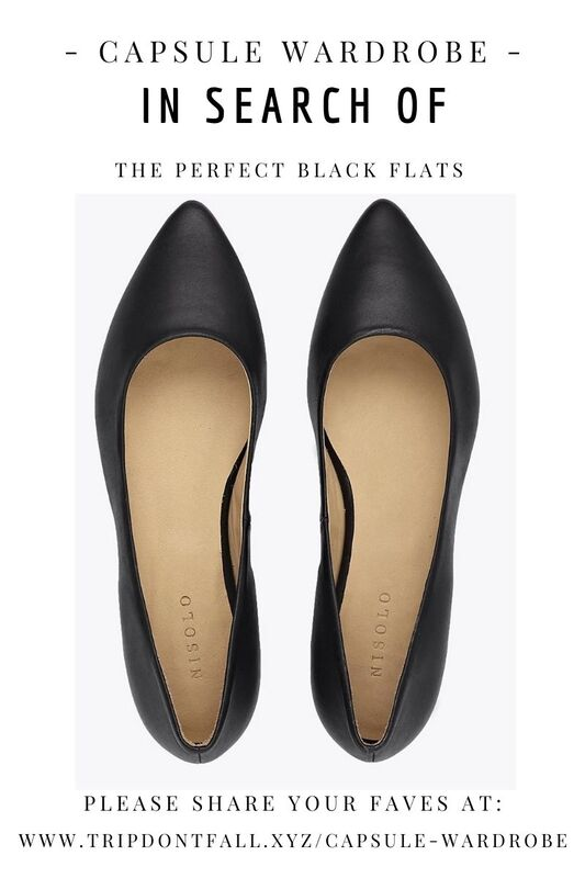 Capsule Wardrobe Basics: In Search Of  The Perfect Black Leather Flats - Nisolo Shoe Review